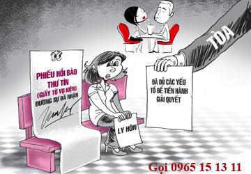 Tư vấn thủ tục đơn phương ly hôn
