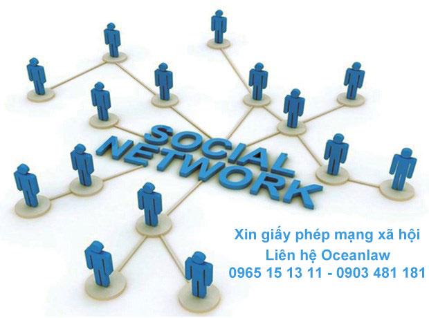 Xin giấy phép Website Mạng Xã Hội trực tuyến