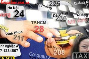 Thay đổi mã vùng điện thoại cố định có hiệu lực từ ngày 1/3/2015