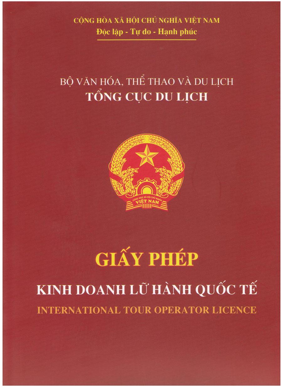 Xin cấp Giấy phép lữ hành quốc tế