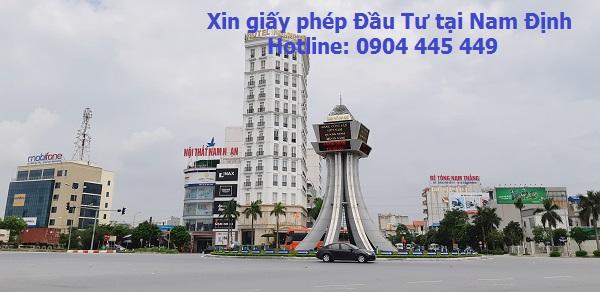 Xin cấp phép đầu tư tại Nam Định