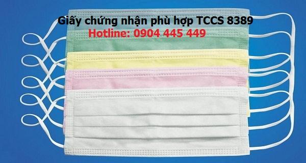 Xin giấy chứng nhận phù hợp TCVN 8389